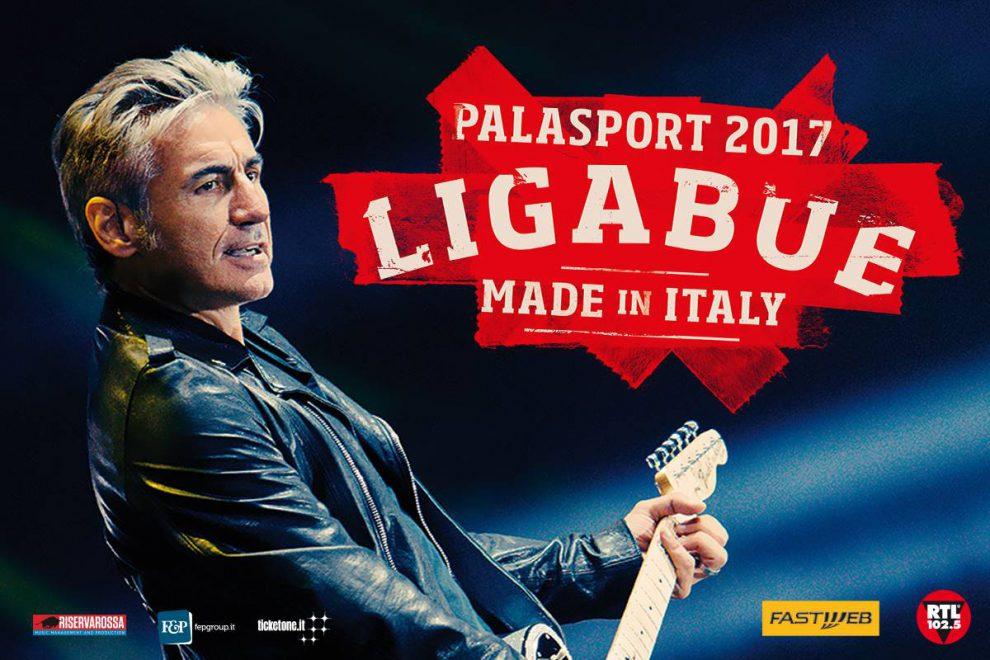 Calendario Ligabue.Palasport 2017 Tutte Le Date Del Made In Italy Tour